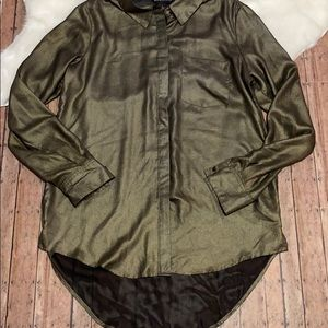 🎉Rock & Republic Shimmery Button Down (NWT)🎉